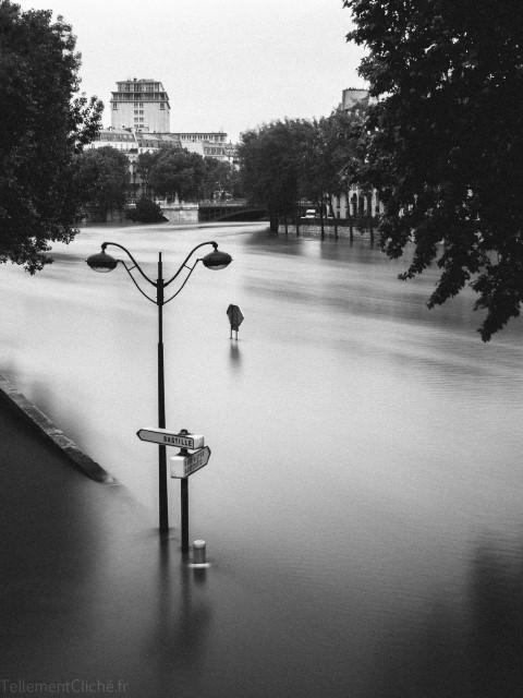 Paris, Crue de la Seine, 2016